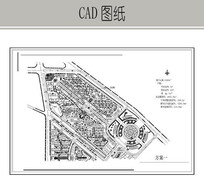 滨江花城总平面图