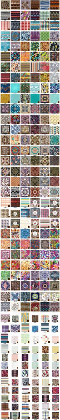 地毯方巾服装印花地砖矢量图案