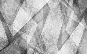 黑白幾何抽象線條藝術背景墻