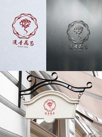 漫香花艺logo