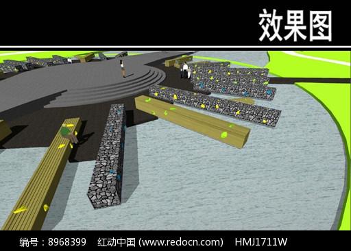 东部华侨城花桥雕塑效果图图片