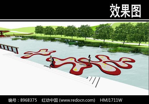 东部华侨城某公园观鱼平台效果图片