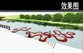 东部华侨城某公园观鱼平台效果