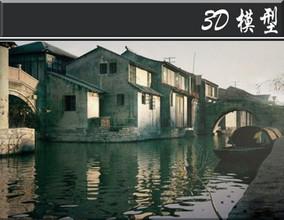古代建筑3d