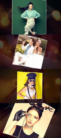 时尚写真杂志宣传AE模板