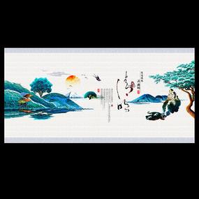 唯美中国风清明节宣传海报