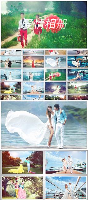 浪漫婚礼相册片头模板