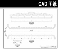 直桥CAD平面图