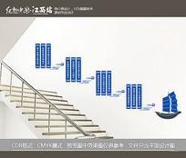 企业文化楼梯墙