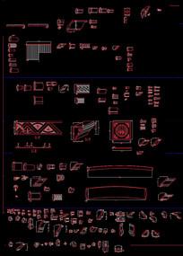 CAD欧式线条