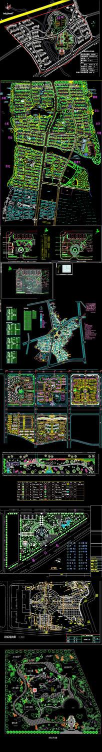公园园林景观设计平面图