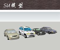四款精美汽车SU
