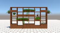 阳台花卉架