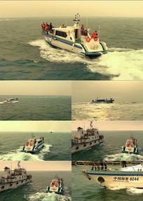 海警警船出海高清实拍视频