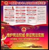 图解中华人民共和国宪法修正案展板