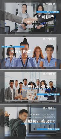 pr简洁大气企业宣传片头模板