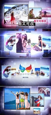 3d时尚写真电子相册模板