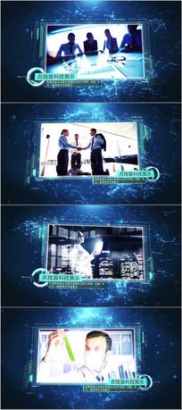 科技公司企业宣传AE模板