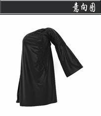 黑色女士长袖3D模型