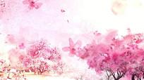 中国风美丽桃花素材