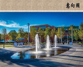 广场喷泉意向图 JPG