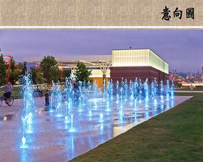喷泉水景意向 JPG