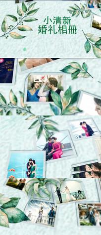 唯美清新爱情婚礼相册AE模版