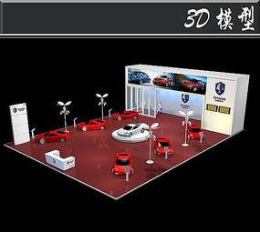 长安汽车展厅3D模型
