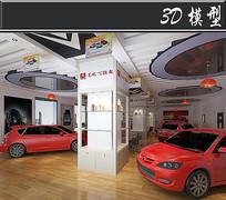 东风雪铁龙汽车店3D模型