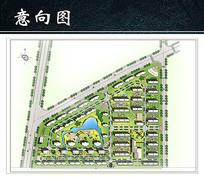 小区总平面图JPG