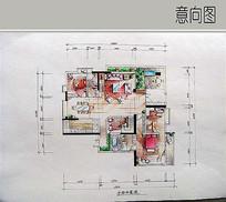 室内平面布局图