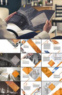 企业画册模板设计