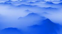 中国风唯美大气水墨山视频