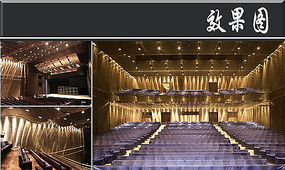 重庆六层大剧院室内效果图