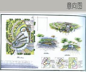 社区活动广场方案设计 JPG