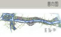 河滨公园景观平面图