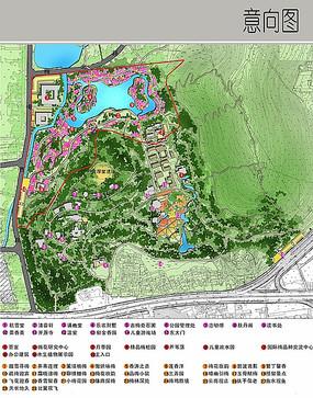 梅园园林彩平图