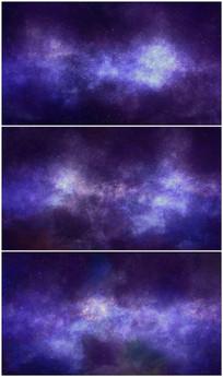 云雾星空粒子背景视频素材