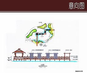 紫藤廊设计详图