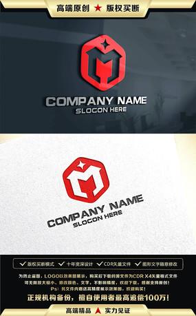 m字母开头logo