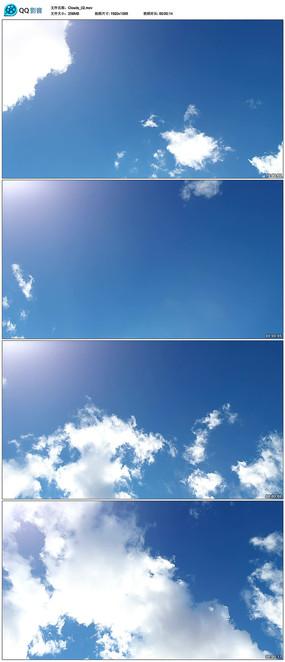 天空天空白云