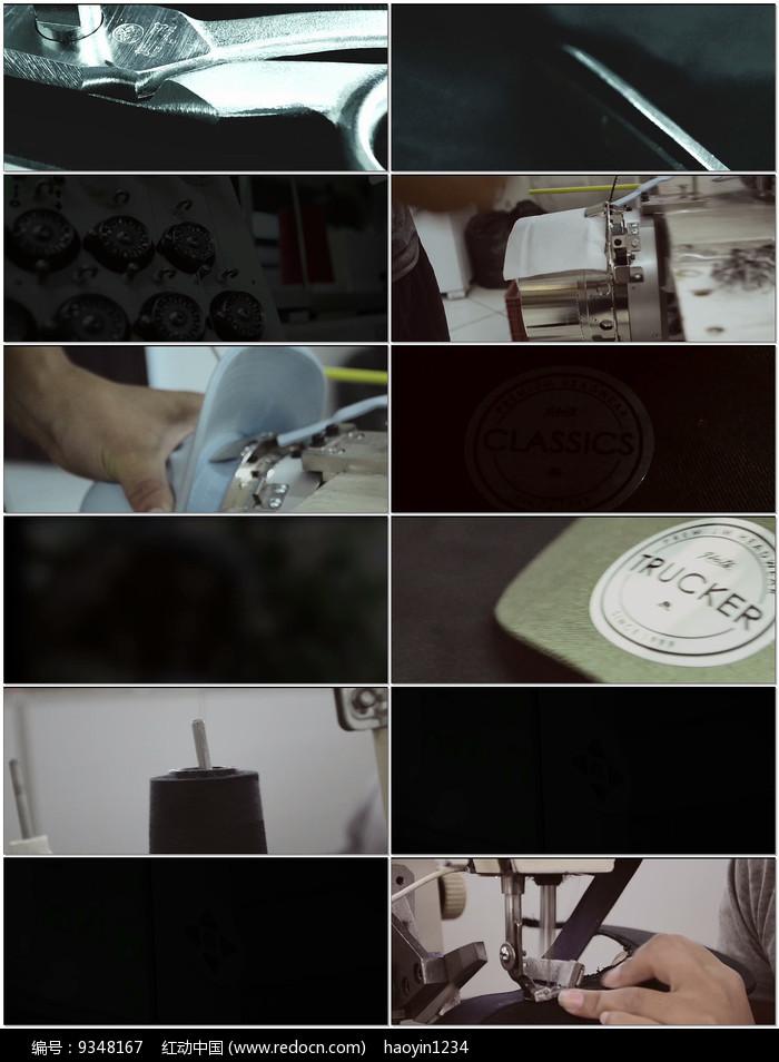 帽子加工生产流程视频图片