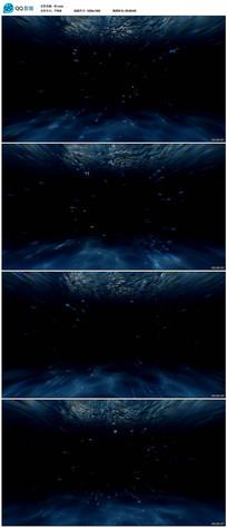 海底穿越视频素材