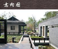 中式水榭庭院设计