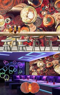 动感艺术歌厅酒吧工装
