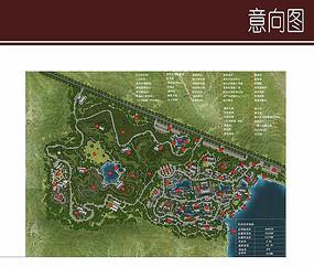 生态茶博方案平面图
