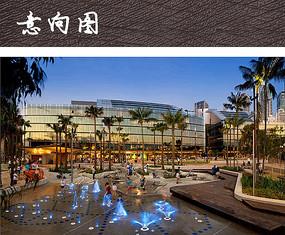 不规则商业广场景观 JPG