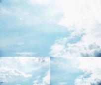 超好看的蓝天白云延时视频素材