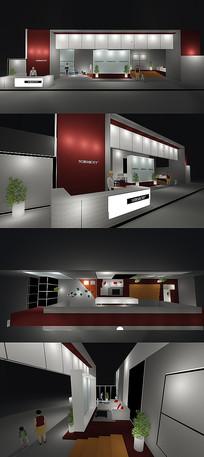 精美活动展厅设计效果图