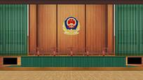法院法官国徽面试大厅